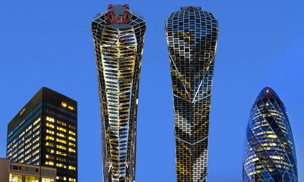 perierga.gr - Eντυπωσιακός πύργος σε σχήμα κόμπρας!