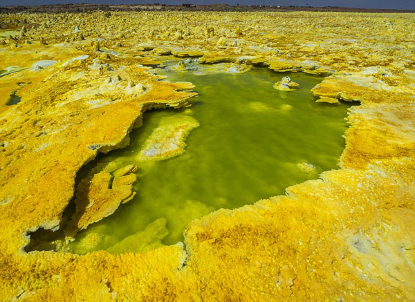 perierga.gr - Το απόκοσμο τοπίο του Daloll στην Αιθιοπία!