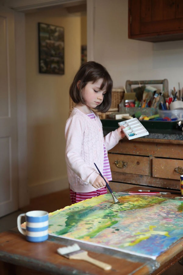 perierga.gr - 6χρονη αυτιστική ζωγράφος συγκινεί!