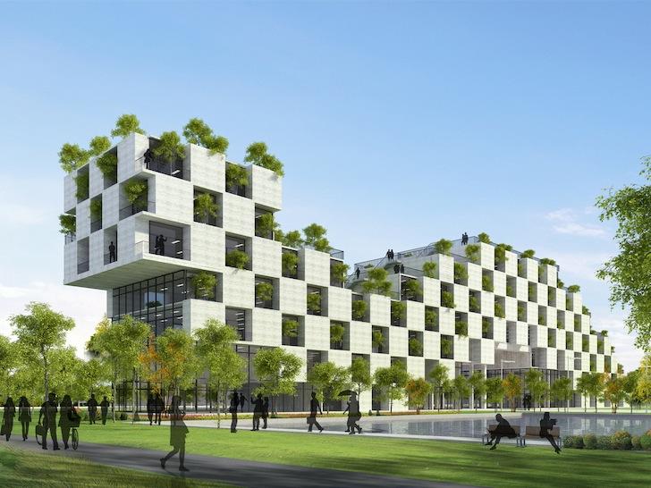 perierga.gr - Kαταπράσινο πανεπιστήμιο στο Βειτνάμ!