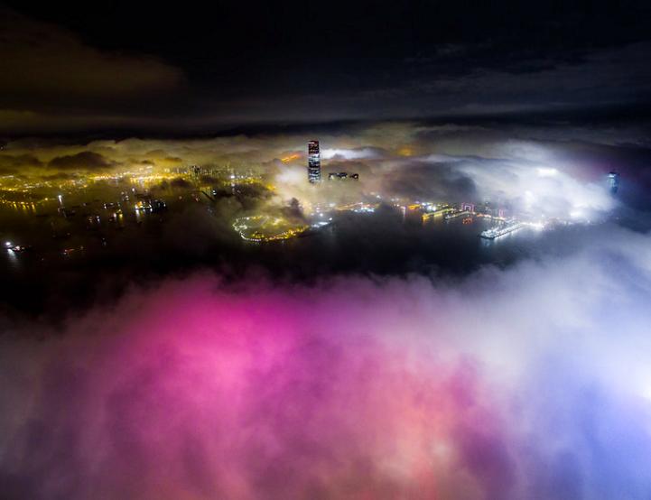perierga.g - To Χονγκ Κονγκ στην... ομίχλη!r
