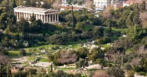 perierga.gr - Εντυπωσιακή ξενάγηση στην πανέμορφη Αρχαία αγορά της Αθήνας με drone