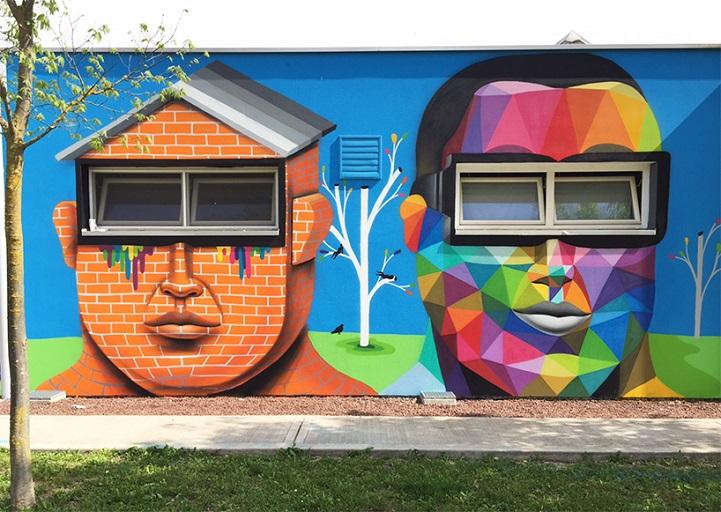 perierga.gr - Εντυπωσιακά γκράφιτι σε τοίχους νηπιαγωγείου