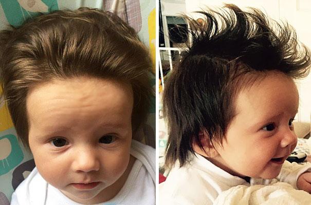 perierga.gr - Μωρά που γεννήθηκαν με ασυνήθιστα πολλά μαλλιά!