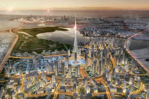 perierga.gr - Το νέο ψηλότερο κτήριο ετοιμάζεται στο Ντουμπάι