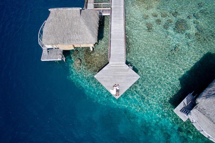 perierga.gr - Ασυνήθιστες γαμήλιες φωτογραφίες από drone!