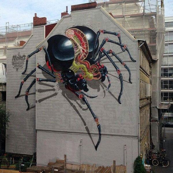 perierga.gr - Τεράστια γκράφιτι σε πόλεις του κόσμου!