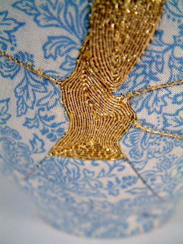 perierga.gr - Σπασμένα αγγεία... ράβονται με χρυσοκλωστή!