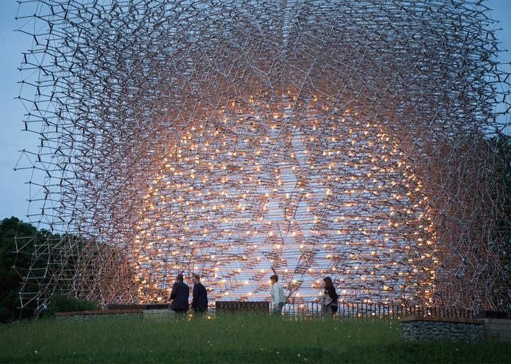 "perierga.gr - Μια τεράστια ""κυψέλη"" στους κήπους του Λονδίνου!"