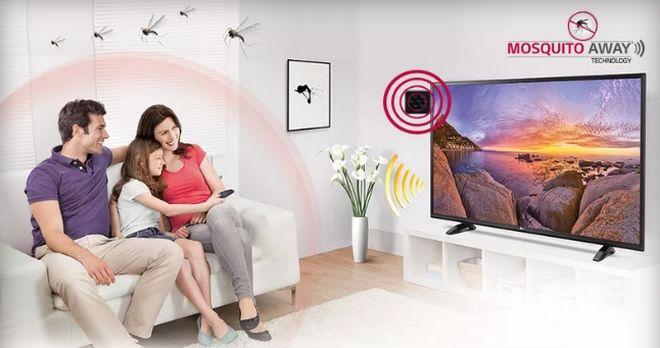 perierga.gr - Tηλεόραση διώχνει μόνη της τα κουνούπια!