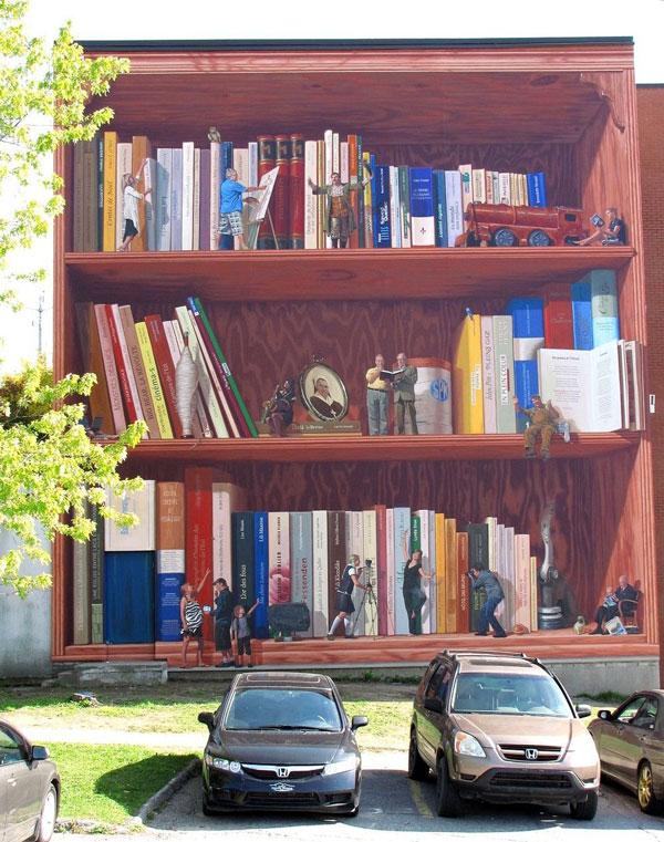 perierga.gr - Τεράστιες τοιχογραφίες αλλάζουν την εικόνα της πόλης!