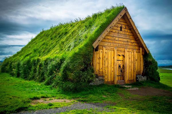 perierga.gr - Οι υπέροχες πράσινες στέγες των σκανδιναβικών σπιτιών!