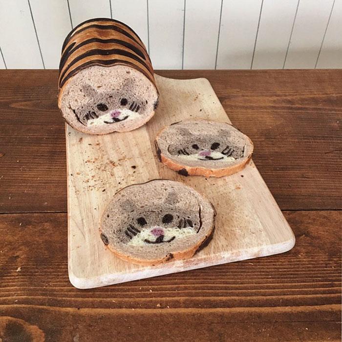 perierga.gr - Ψωμί εμπνευσμένο από παιδικές ζωγραφιές!