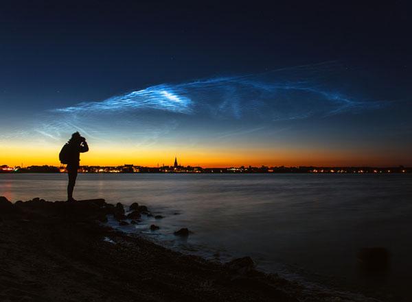 perierg.gr - Σπάνια σύννεφα στον ουρανό της Δανίας!