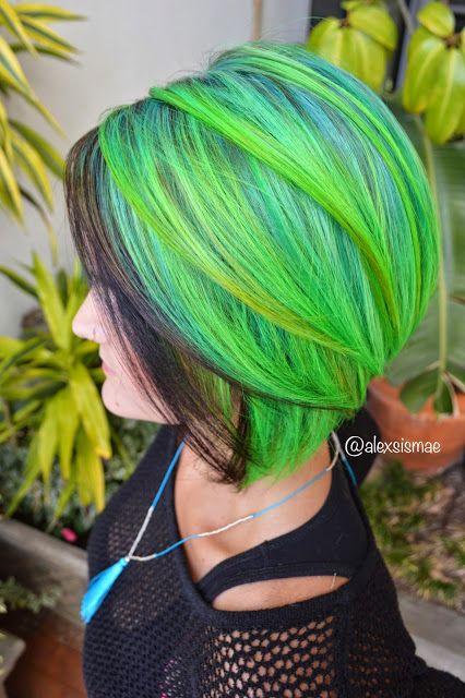 perierga.gr- Το ουράνιο τόξο στα μαλλιά!