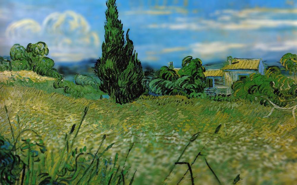 perierga.gr - Κοιτάζοντας από κοντά τους πίνακες του Βαν Γκογκ!