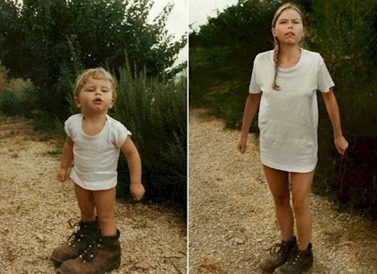 perierga.gr -  Ενήλικες μιμούνται παιδικές φωτογραφίες...