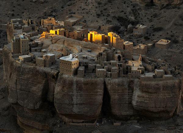 perierga.gr - Haid Al-Jazil: Χωριό πάνω σε πέτρες!
