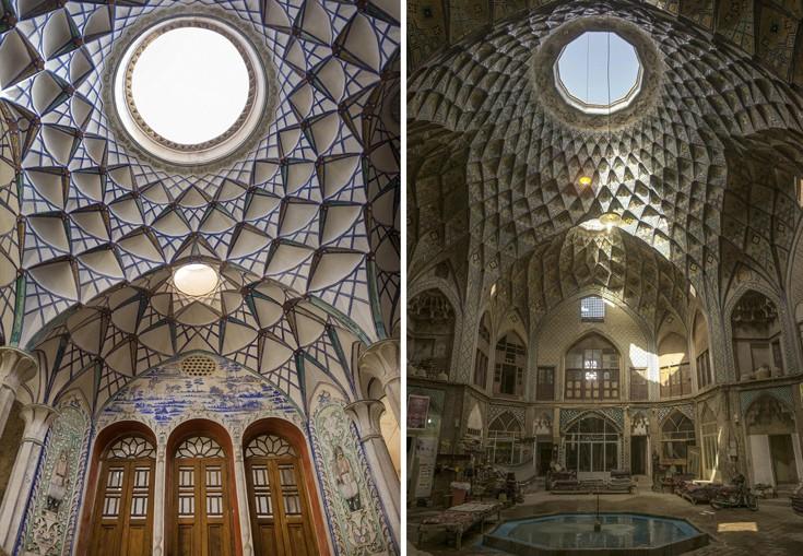 perierga.gr - Οι εντυπωσιακές οροφές του Ιράν!