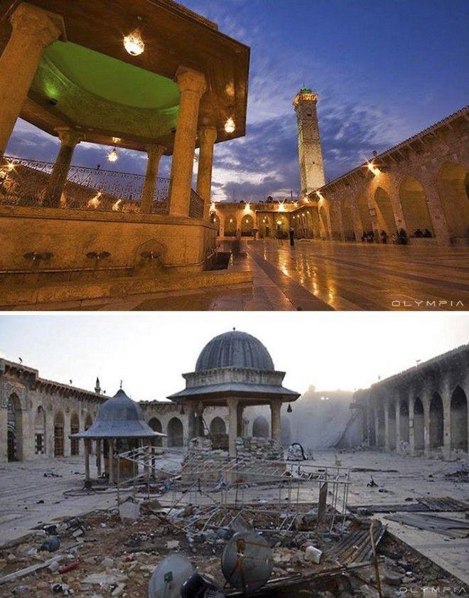 perierga.gr - Η Συρία πριν και μετά τον πόλεμο!