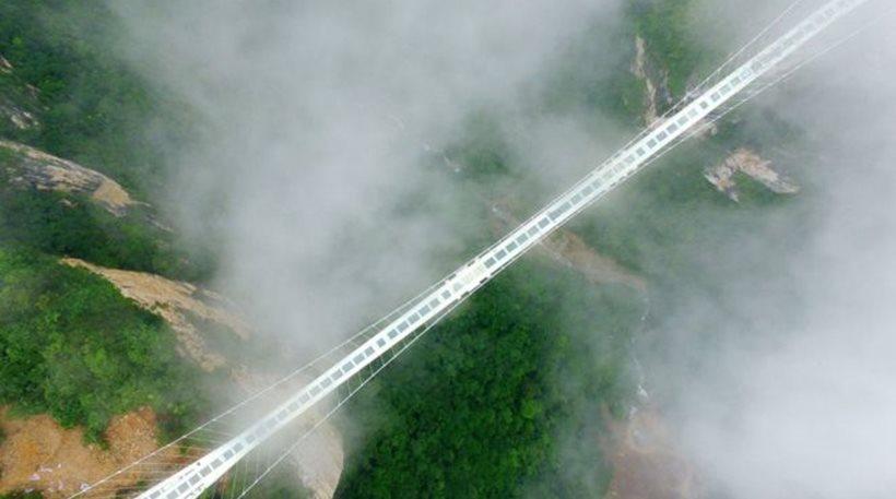 perierga.gr - Εγκαίνια για τη μεγαλύτερη γυάλινη γέφυρα στον κόσμο!