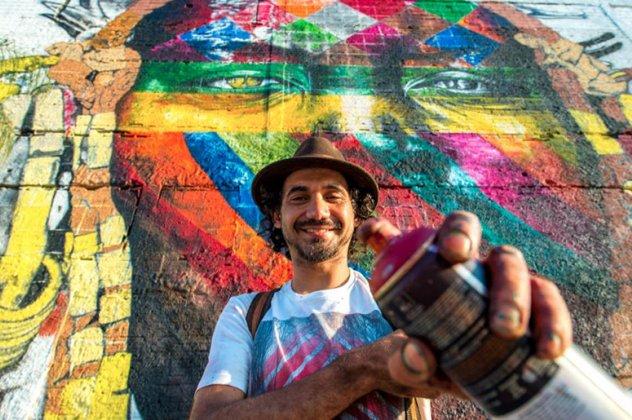perierga.gr - Το μεγαλύτερο γκράφιρι του κόσμου στους Ολυμπιακούς του Ρίο!