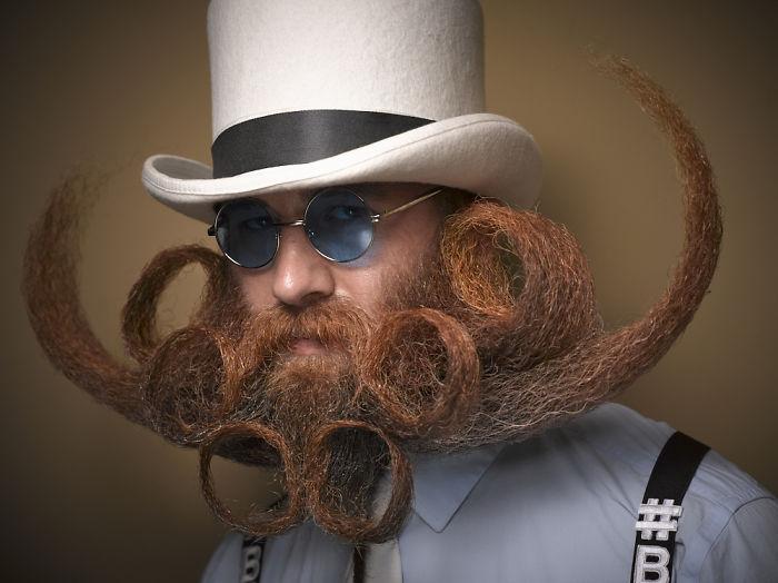 perierga.gr - Εντυπωσιακά... μουστάκια από τον διεθνή διαγωνισμό 2016 γενειάδας!
