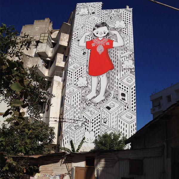 perierga.gr - Εντυπωσιακές τοιχογραφίες στο Μιλάνο!