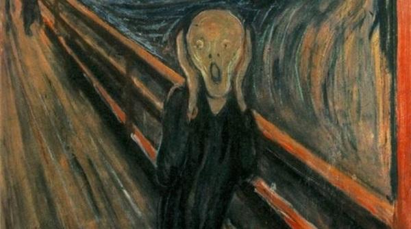perierga.gr - Λύθηκε το μυστήριο του παράξενου λευκού λεκέ στον πίνακα «Κραυγή» του Μουνκ!
