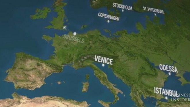 perierga.gr - Έτσι θα δείχνει η Γη μετά το λιώσιμο των πάγων!