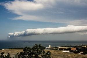 perierga.gr - Τεράστιο σύννεφο πάνω από το Σικάγο!