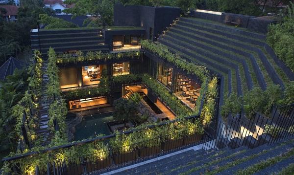 perierga.gr - Τροπικός κήπος στο εσωτερικό κατοικίας!