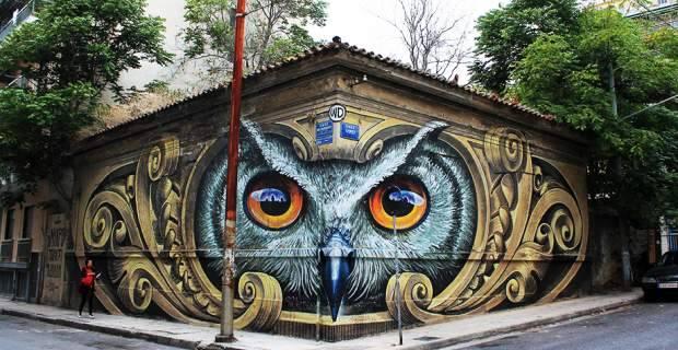 perierga.gr - Γκράφιτι στο κέντρο της Αθήνας κάνει το γύρο του κόσμου!