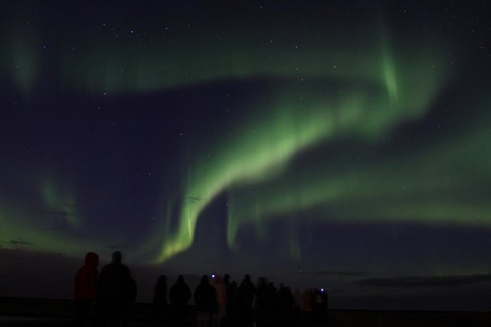perierga.gr - Το Ρέικιαβικ έσβησε τα φώτα του για να δει το Βόρειο Σέλας!