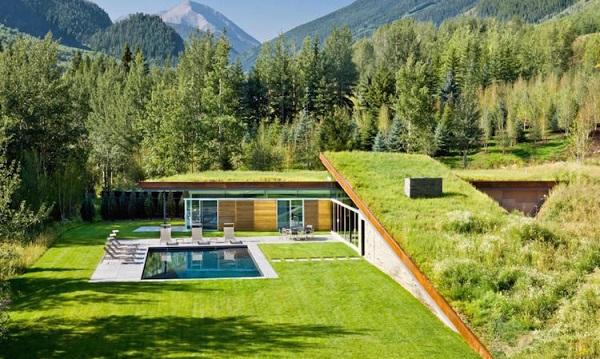 "perierga.gr - ""Πράσινο"" σπίτι στα βουνά!"