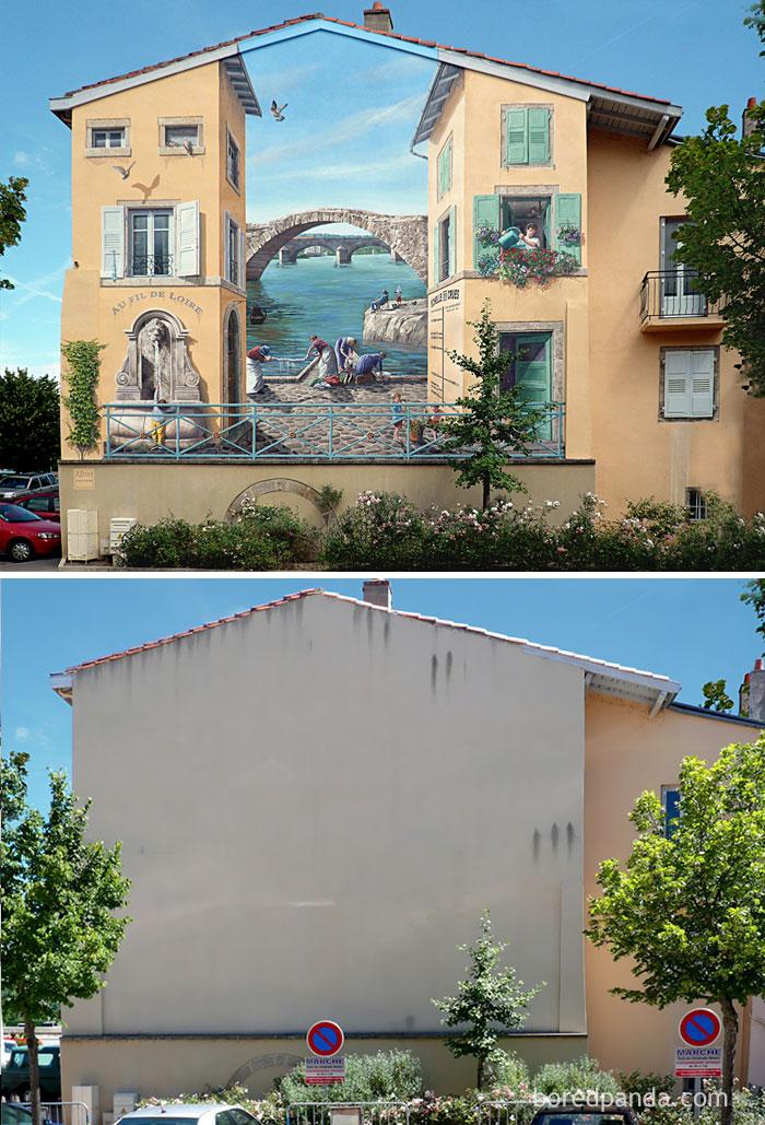 perierga.gr - Πριν & μετά το... street art!