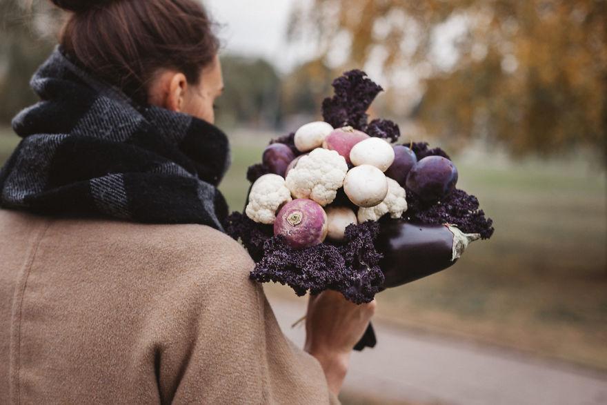 perierga.gr - Υπέροχα μπουκέτα από φρούτα και λαχανικά!