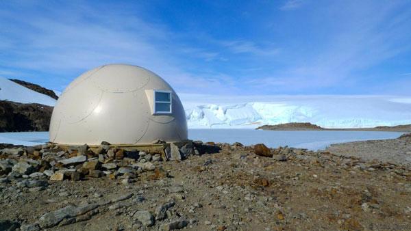 perierga.gr - White Desert camp: Το πιο απομακρυσμένο ξενοδοχείο!