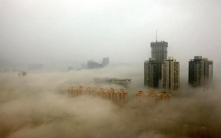 perierga.gr - Η ρύπανση της Κίνας μέσα από απίθανες εικόνες!