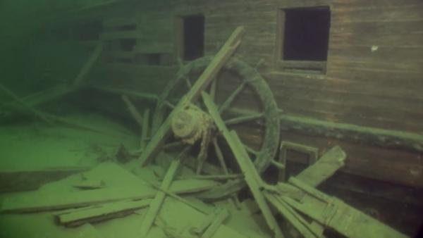 Perierga.gr-Ναυάγιο βρέθηκε 132 χρόνια μετά σε άριστη κατάσταση