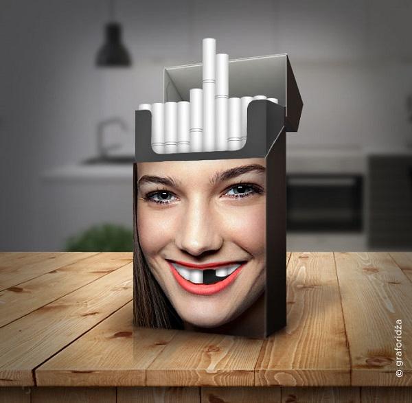 perierga.gr - Ευφάνταστο πακέτο τσιγάρων υπενθυμίζει τις βλαβερές συνέπειες του καπνίσματος!