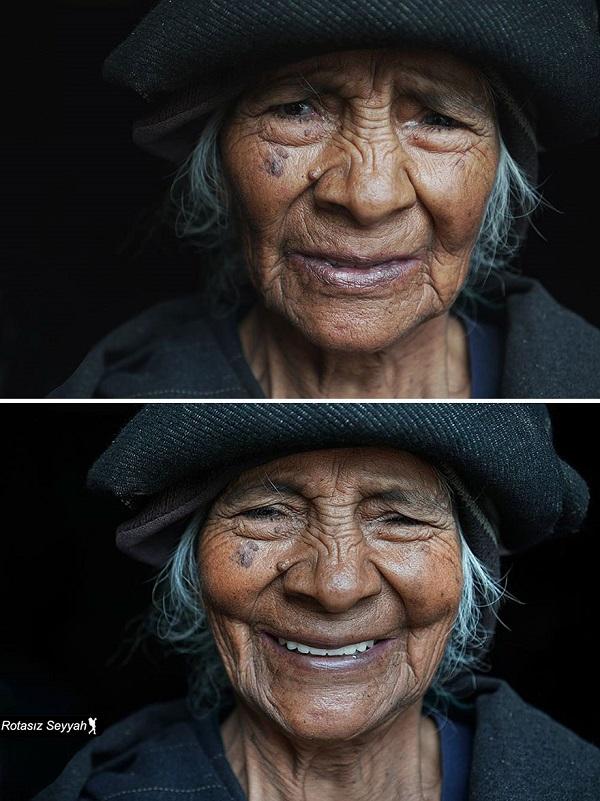 perierga.gr - Πώς ένα πρόσωπο αλλάζει με ένα κομπλιμέντο!