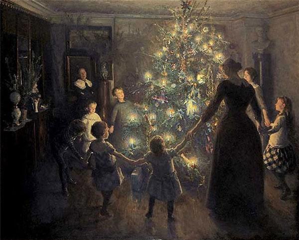 perierga.gr - Η ιστορία του χριστουγεννιάτικου δέντρου