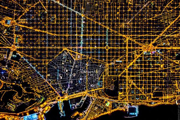 perierga.gr - Εντυπωσιακές νυχτερινές αεροφωτογραφίες!