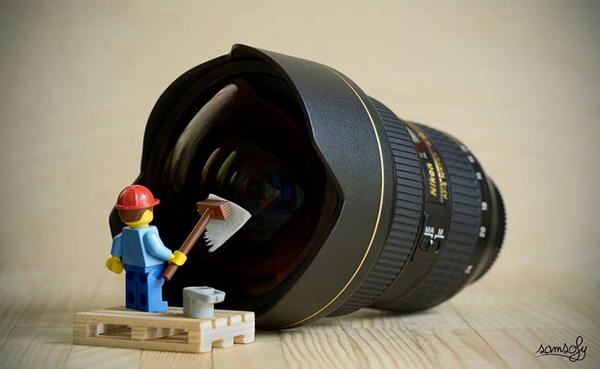 Perierga.gr-Φωτογραφίες από τον μικρόκοσμο των LEGO