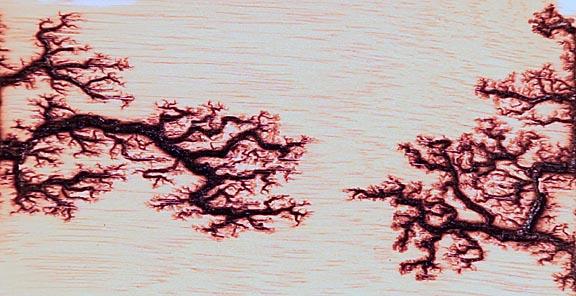 perierga.gr - Τέχνη σε ξύλο με ηλεκτρισμό!