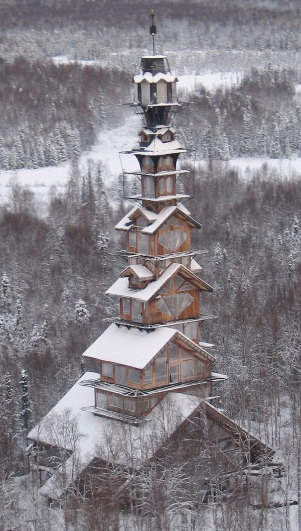 perierga.gr - Ασυνήθιστο σπίτι στην Αλάσκα!