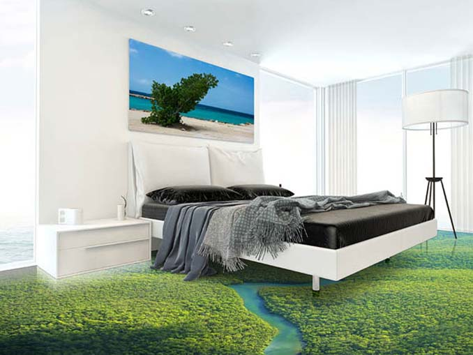 perierga.gr - Τρισδιάστατα πατώματα αλλάζουν την εμφάνιση των δωματίων!