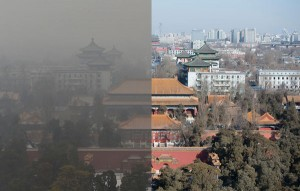 perierga.gr - 20 λεπτά χρειάζεται το νέφος για να καλύψει το Πεκίνο!