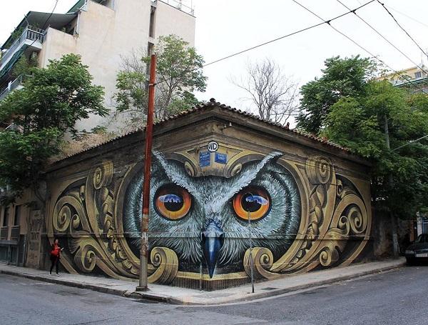 perierga.gr - Απίθανη τρισδιάστατη τέχνη του δρόμου!